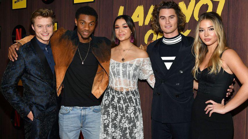 """Der Cast von """"Outer Banks"""" bei einem Event in West Hollywood im Februar 2020"""