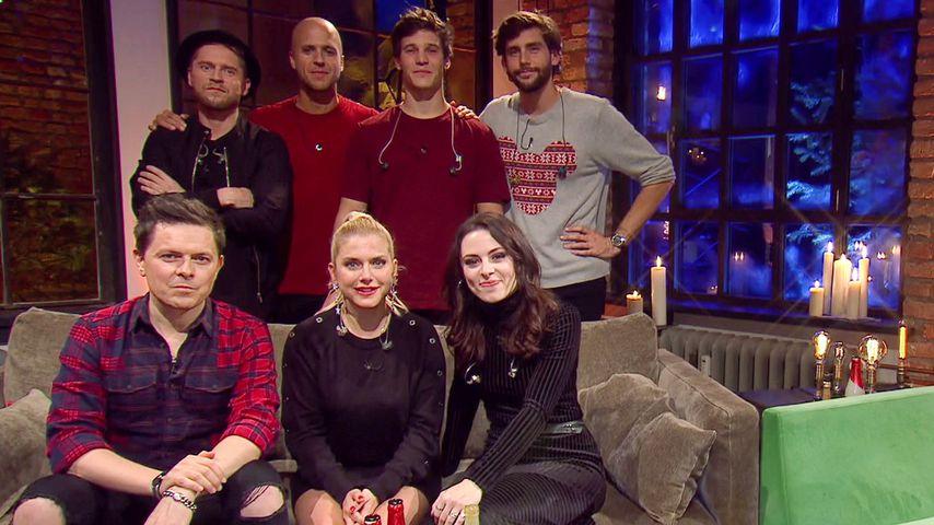 """Der Cast von """"Sing meinen Song – Die Weihnachtsparty"""""""