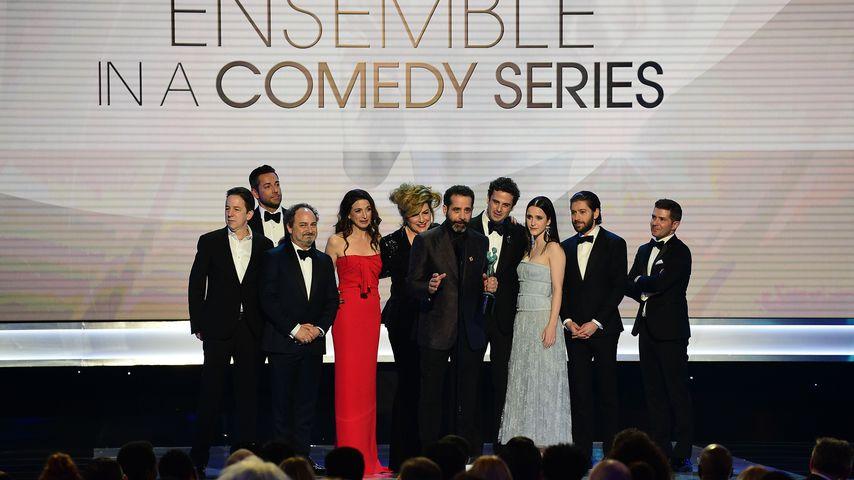 """Der Cast von """"The Marvelous Mrs. Maisel"""" bei den SAG Awards 2019"""
