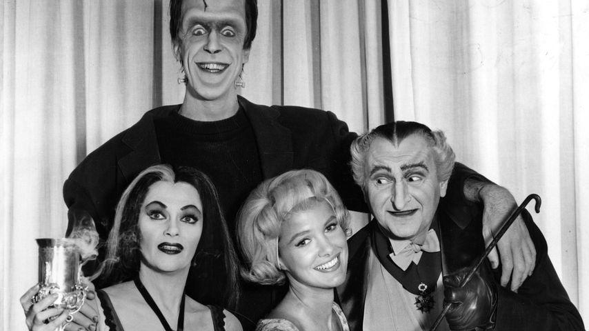 """Der Cast von """"The Munsters"""", 1964-1966"""