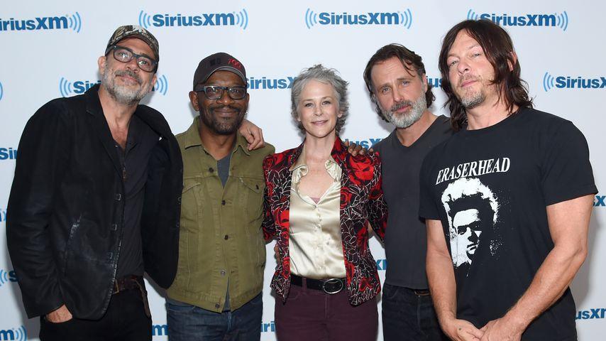 """Der Cast von """"The Walking Dead"""" im Oktober 2017"""