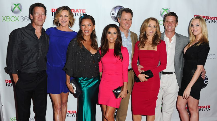 "Der Cast von ""Desperate Housewives"" im April 2012"