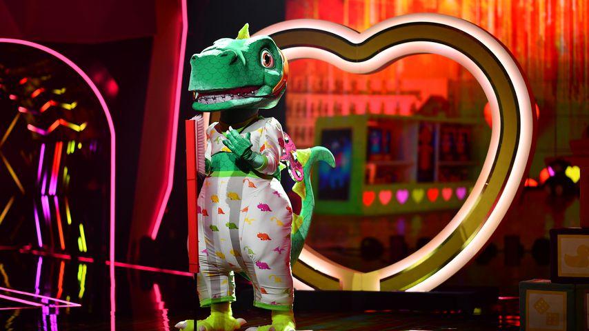 """Der Dinosaurier bei """"The Masked Singer"""""""