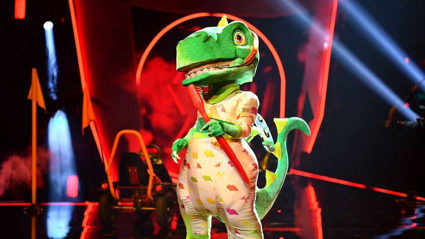 """Hier kommen alle Indizien zum """"The Masked Singer""""-Dino!"""