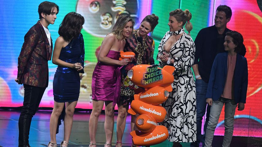 "Der ""Fuller House""-Cast bei den Kids' Choice Awards 2019 in Los Angeles"