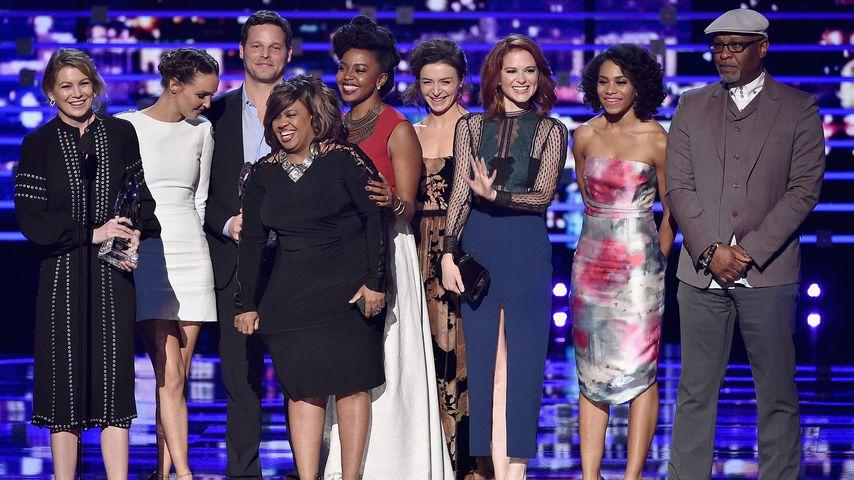 """Der """"Grey's Anatomy""""-Cast bei den People's Choice Awards 2016"""