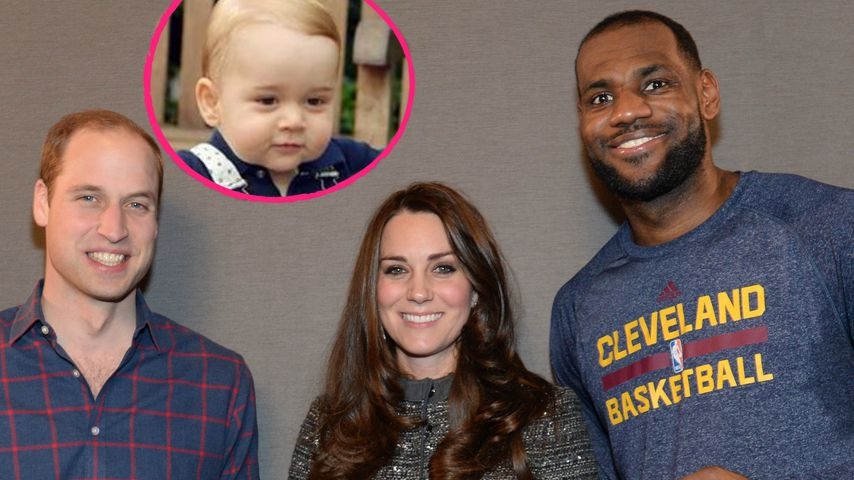 Süß! Prinz George bekommt NBA-Trikot aus NYC