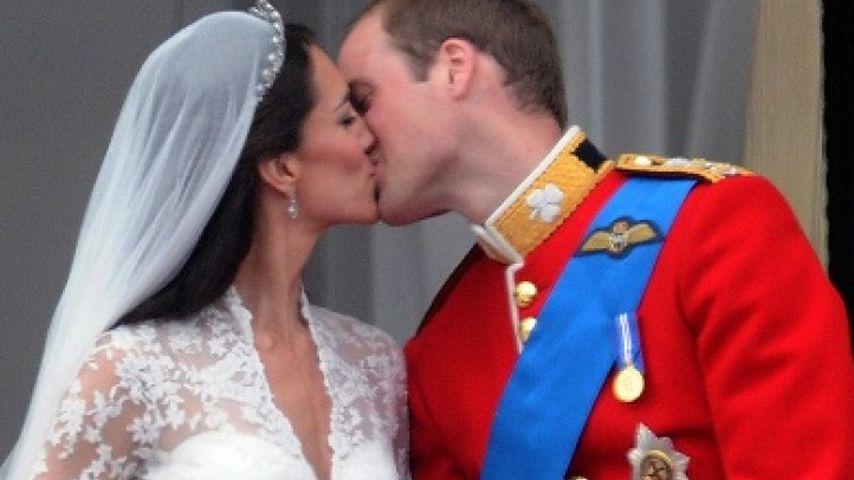 Kate Middleton und Prinz William bei ihrer Hochzeit im April 2011