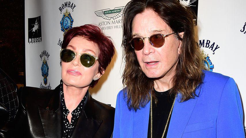 Der Musiker Ozzy Osbourne und seine Frau Sharon