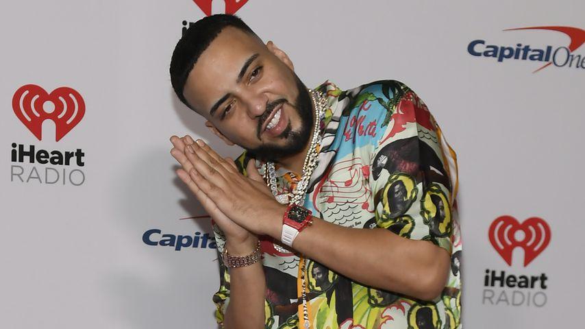 Der Rapper French Montana beim iHeartRadio Festival