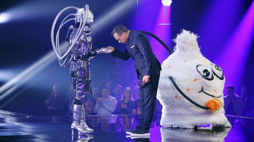 """Der Roboter, Matthias Opdenhövel und der Wuschel bei """"The Masked Singer"""""""