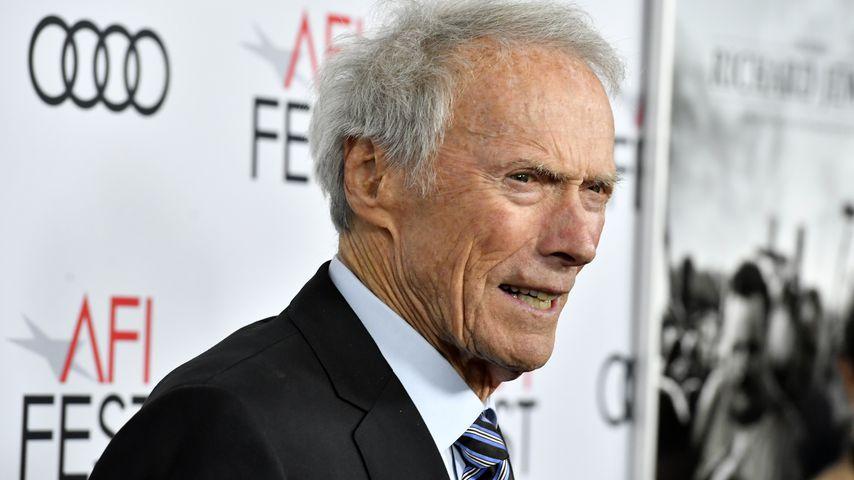 Der Schauspieler und Regisseur Clint Eastwood