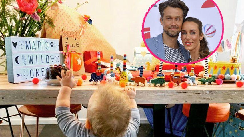 Stolze Eltern: Wayne und Annemarie feiern B-Day ihres Sohnes