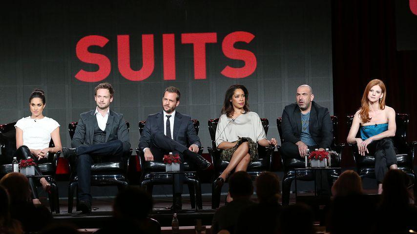 """Der Cast der Anwaltsserie """"Suits"""" im Januar 2014"""