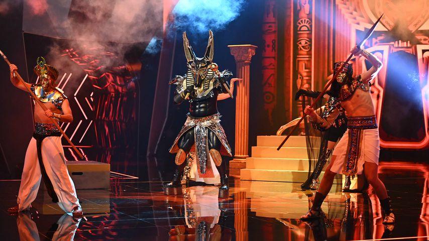 """Der Anubis bei """"The Masked Singer"""""""