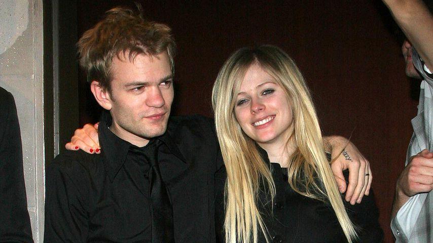Deryck Whibley und Avril Lavigne im Jahr 2006