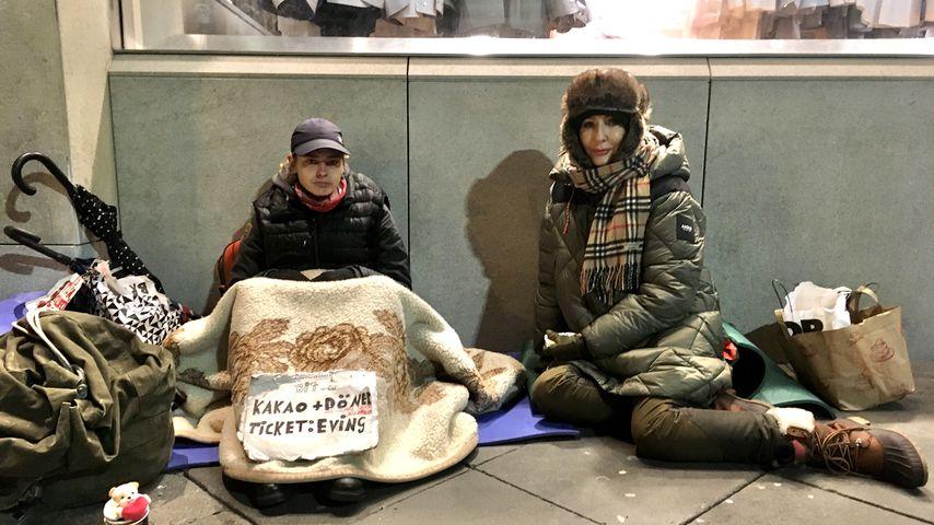 "Désirée Nick bei ""Prominent und obdachlos"""