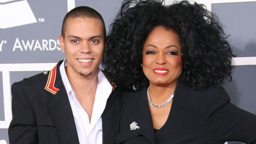 Evan Ross und Diana Ross