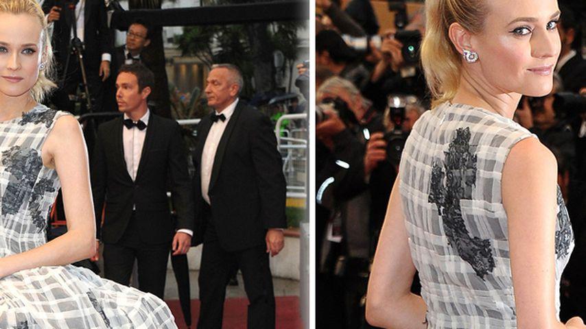 Gewaltig! Diane Kruger im Mega-Schößchen-Kleid