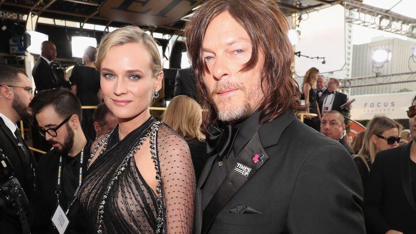 1. Paar-Auftritt: Diane Kruger & Norman Reedus total in love