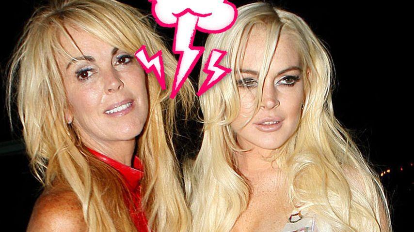 Mutter-Tochter-Fight: Polizei bei Lindsay Lohan