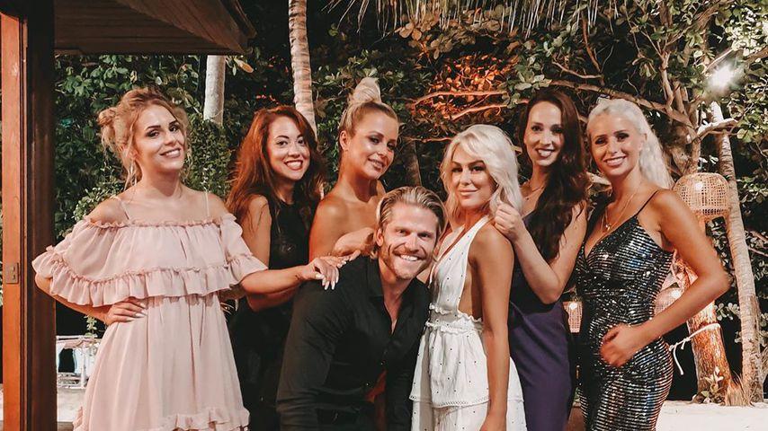 "Die ""Bachelor in Paradise""-Ladys mit Ex-Bachelor Paul Janke"