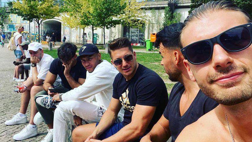 Die Bachelorette-Jungs in Berlin