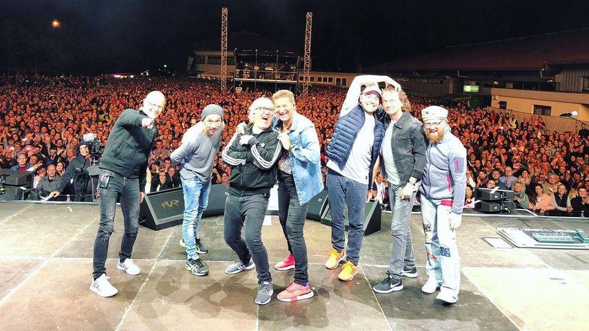 Die Pop-Band Pur bei einem ihrer Auftritte im September 2019