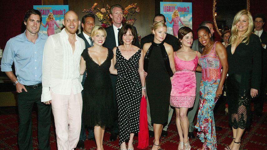 """Die Besetzung von """"Natürlich blond 2"""" bei der Filmpremiere im Juni 2003"""