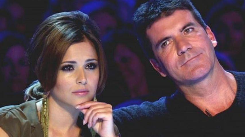 Cheryl Cole und Simon Cowell