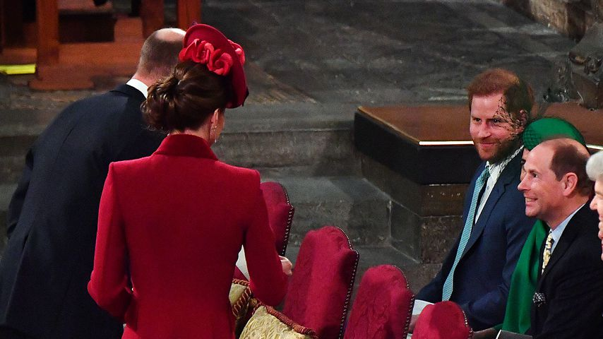 Die britischen Royals beim Commonwealth Day Service