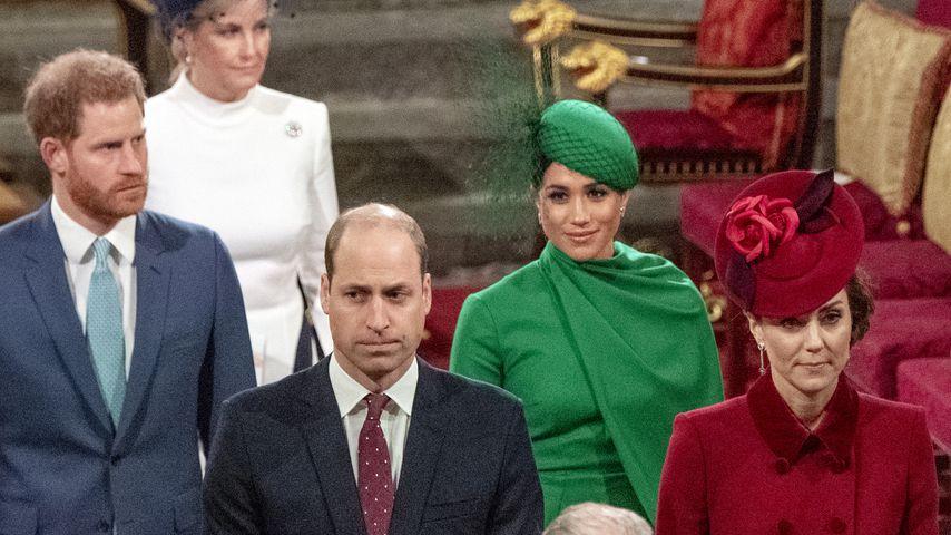 Die britischen Royals im März 2020