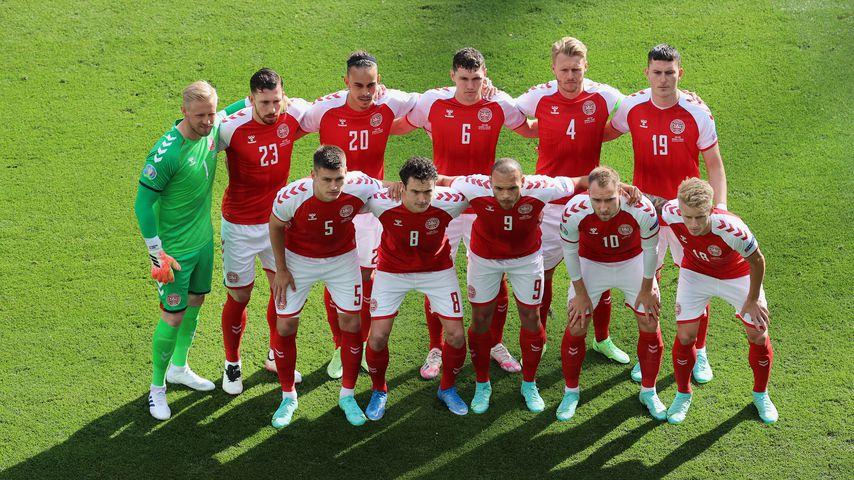 Die Nationalmannschaft von Dänemark