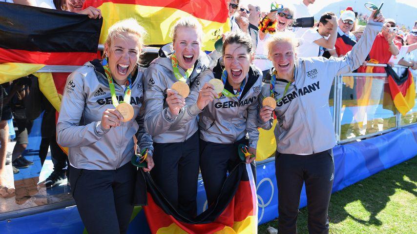 Goldregen in Rio: Der deutsche Knoten ist geplatzt!