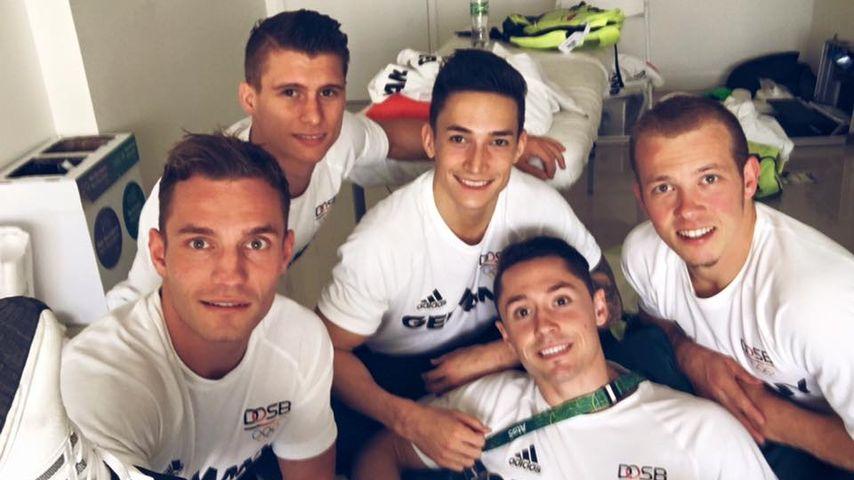 Das deutsche Turnteam bei den Olympischen Spielen 2016