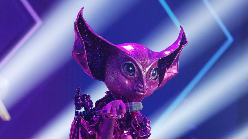 """Das Fledermaus-Kostüm bei """"The Masked Singer"""" 2020"""