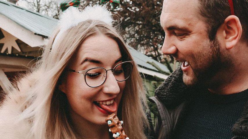 """Die """"Hochzeit auf den ersten Blick""""-Kandidaten Melissa und Philipp im Dezember 2019"""
