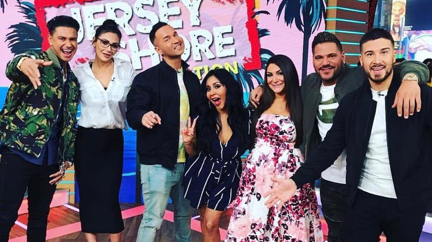 """Die """"Jersey Shore""""-Crew bei Good Morning America Live"""