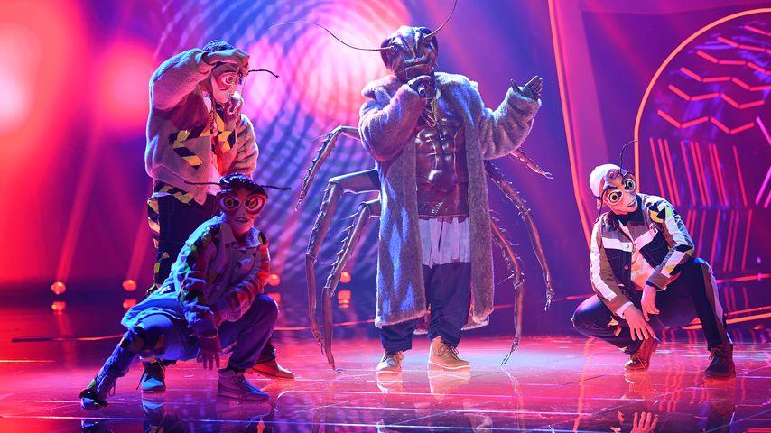 "Die Kakerlake bei der ersten Folge ""The Masked Singer"""