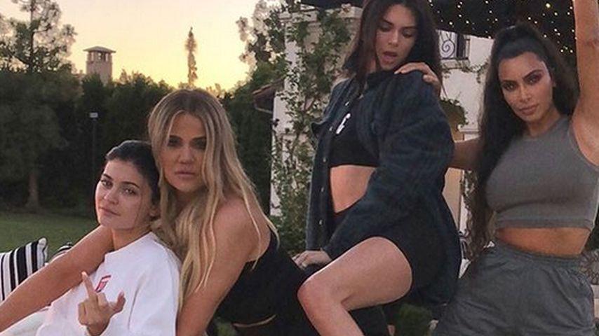Kylie Jenner, Khloé Kardashian, Kendall Jenner und Kim Kardashian