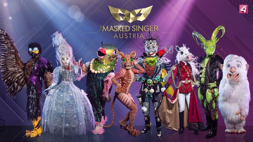 """Süß und flauschig: Erstes """"Masked Singer Austria""""-Kostüm"""