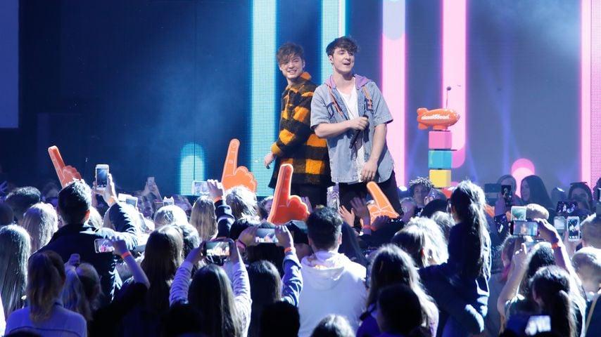 Die Lochis bei den Nickelodeon Kids Choice Award im Europapark in Rust