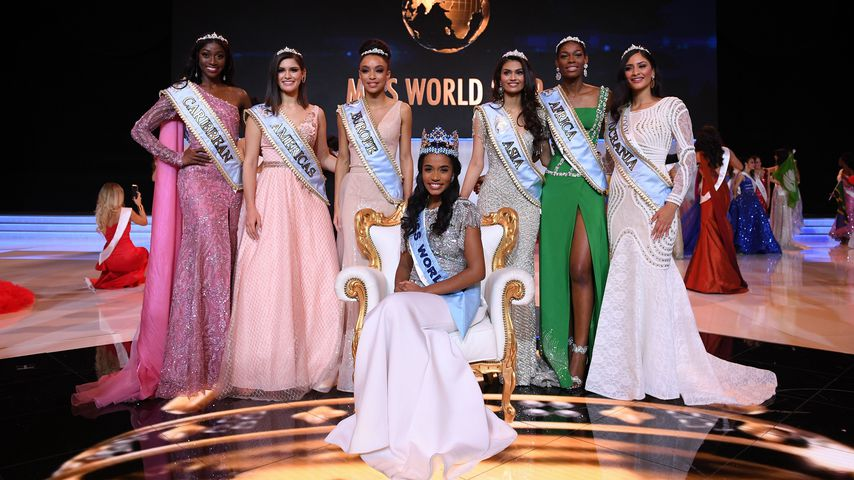 Die Miss-World-Finalistinnen 2019