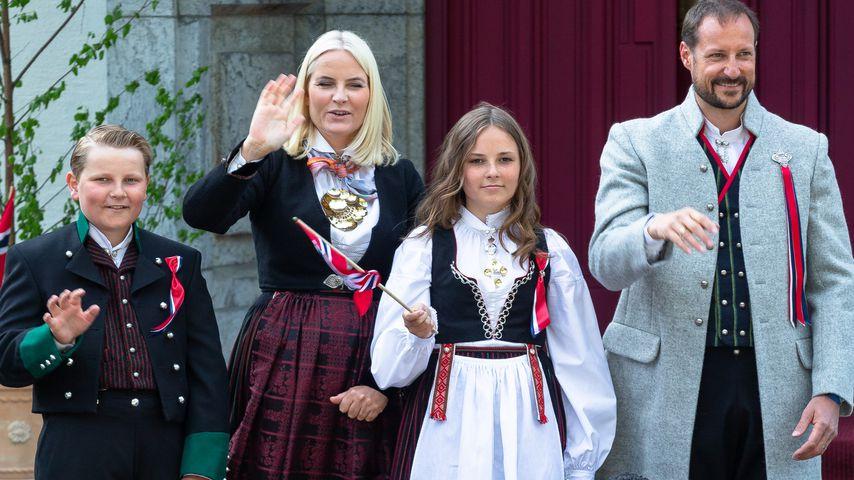 Die norwegische Königsfamilie in Oslo, 2018
