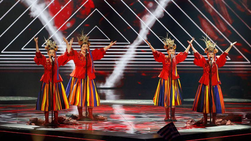 Die polnische Band Tulia beim ersten Halbfinale des ESC 2019