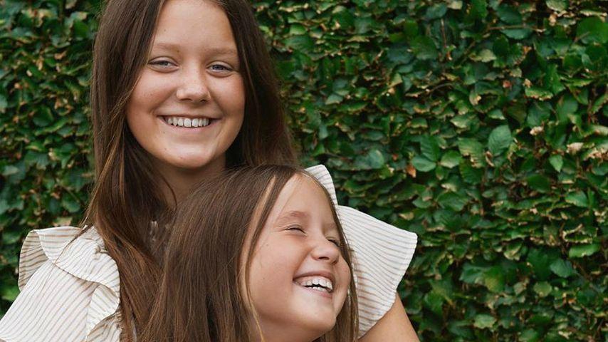 Die Prinzessinnen Isabella und Josephine, August 2020