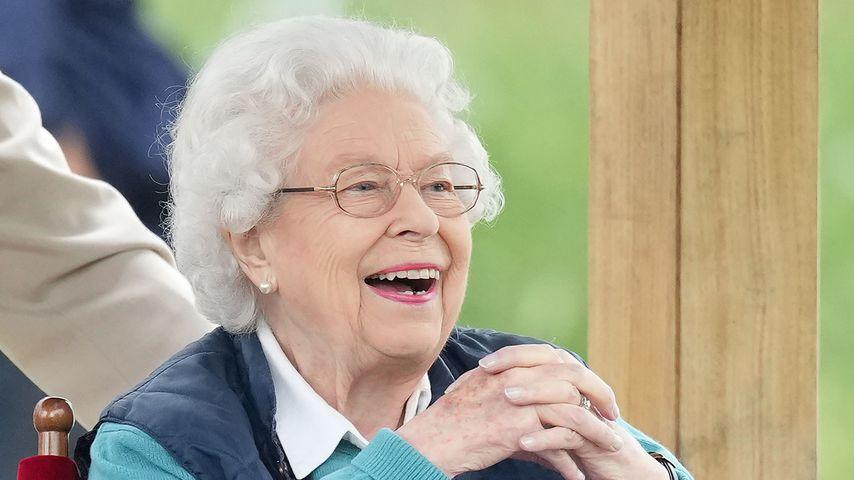 Queen Elizabeth II. bei der Pferde-Show auf Schloss Windsor 2021