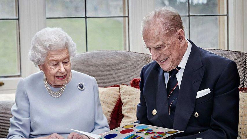 Die Queen und Prinz Philip an ihrem 73. Hochzeitstag