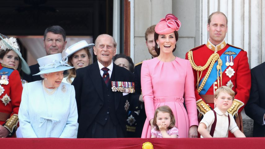 Die Royals beim Trooping The Colour 2017