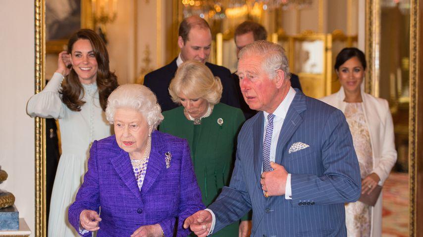 Die britischen Royals im März 2019
